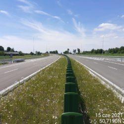 Ciąg główny w kierunku na Lublin 20+830