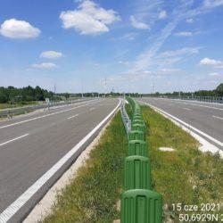 Ciąg główny w kierunku na Lublin 24+060