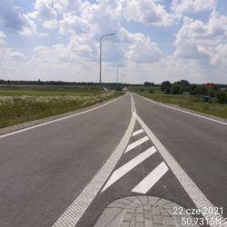 Dojazd od ronda na DK19 do obiektu WS-20 18+536