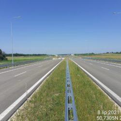 Ciąg główny w kierunku na Lublin 18+460