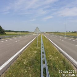 Ciąg główny w kierunku na Lublin 18+500