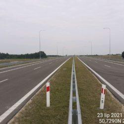 Ciąg główny w kierunku na Lublin 18+700
