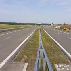 Ciąg główny w kierunku na Lublin 19+810
