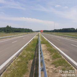 Ciąg główny w kierunku na Lublin 23+360