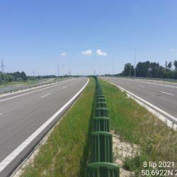 Ciąg główny w kierunku na Lublin 24+200
