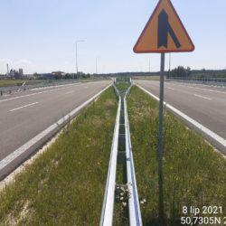 Ciąg główny w kierunku na Rzeszów 18+460