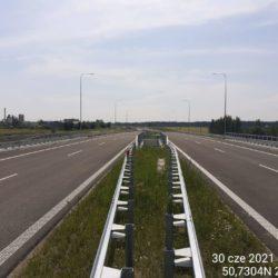 Ciąg główny w kierunku na Rzeszów 18+500