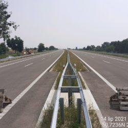 Ciąg główny w kierunku na Rzeszów 19+810