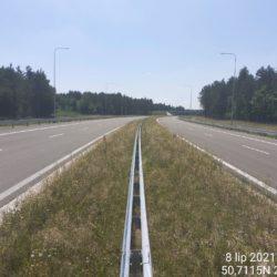 Ciąg główny w kierunku na Rzeszów 21+830