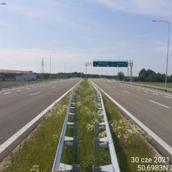 Ciąg główny w kierunku na Rzeszów 23+360