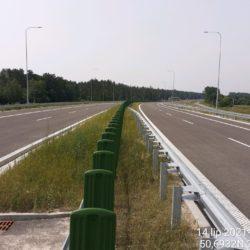 Ciąg główny w kierunku na Rzeszów 24+020