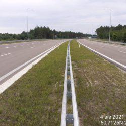 Ciąg główny w kierunku Rzeszowa 21+680