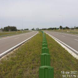 Ciąg główny w kierunku na Lublin 21+100