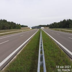 Ciąg główny w kierunku na Lublin 22+790