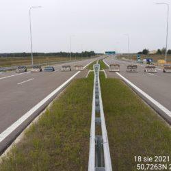 Ciąg główny w kierunku na Rzeszów 19+200