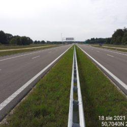 Ciąg główny w kierunku na Rzeszów 22+790