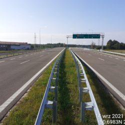 Ciąg główny w kierunku Rzeszów 23+380
