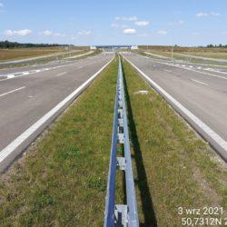 Ciąg główny w kierunku na Lublina 18+400